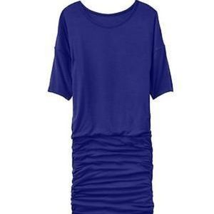 ATHLETA Solstice Dress Royal Blue Rouched Jersey S